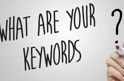 what are your keywords?