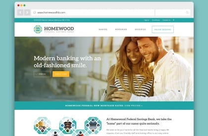 homewood federal site redesign