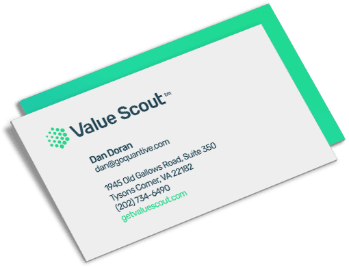 value scout business cards - acs creative website design branding