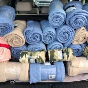 rolled blankets food kitchen donations - Real Projectives   Maryland Private Equity, Advisory and Real Estate Project Management